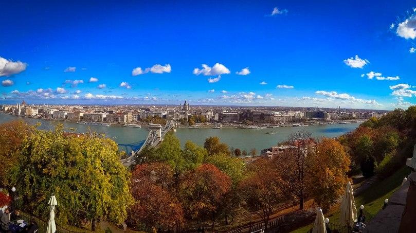 Vista do Buda Castle