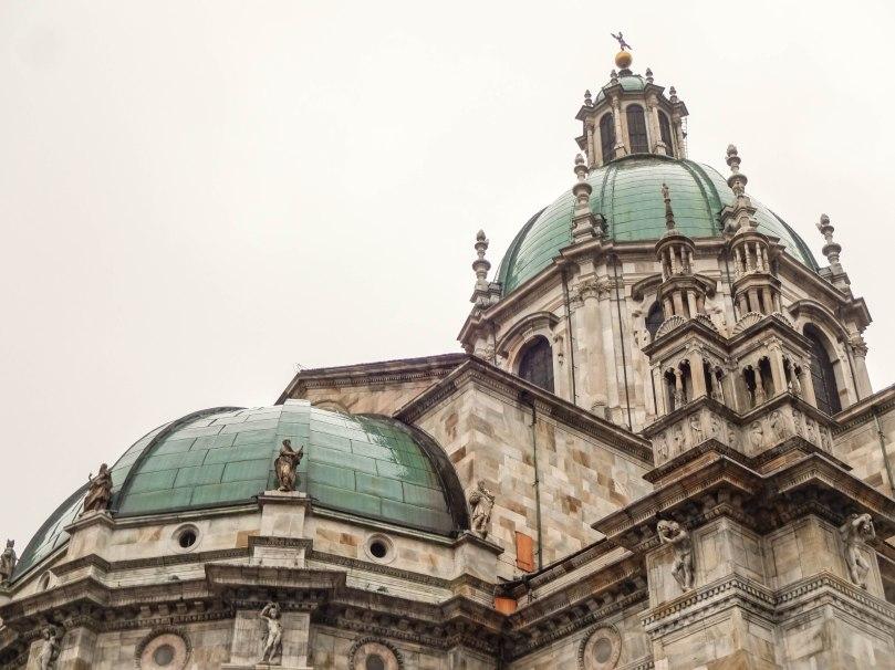 Detalhe da Catedral Duomo - Como