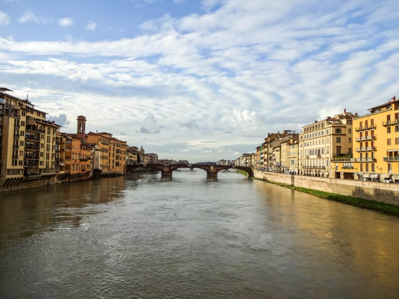 Rio Arno visto da Ponte Vecchio