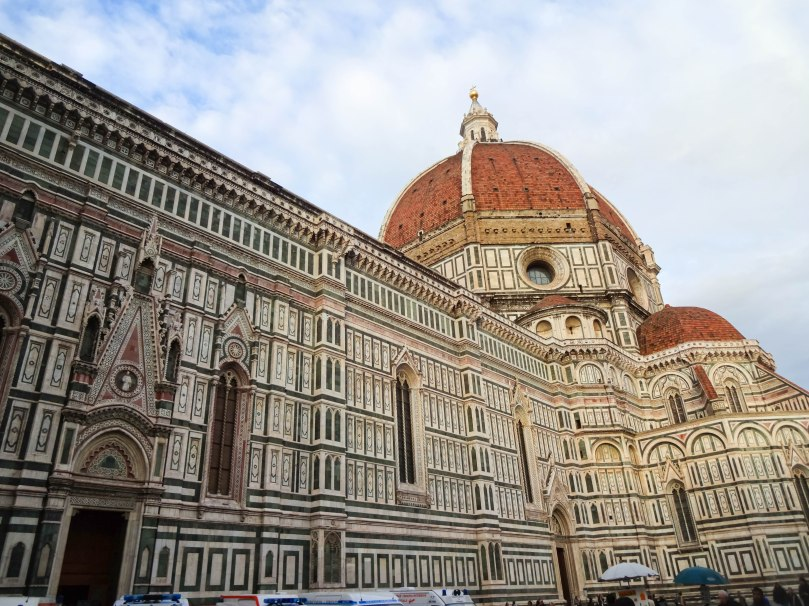 Lateral da Catedral de Florença