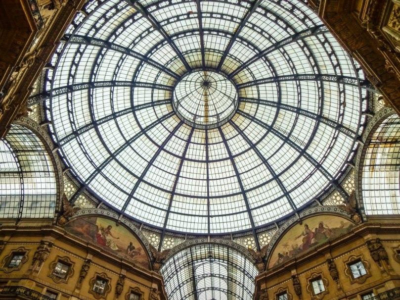 Doma de Vidro - Galleria Vittorio Emanuele II